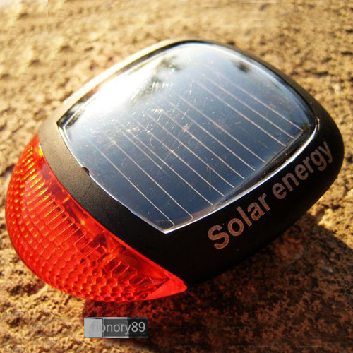 Sales-NEW-LED-Solar-Power-Cycling-Bicycle-Bike-Rear-Tail-Lamp-Light-with-Clamp